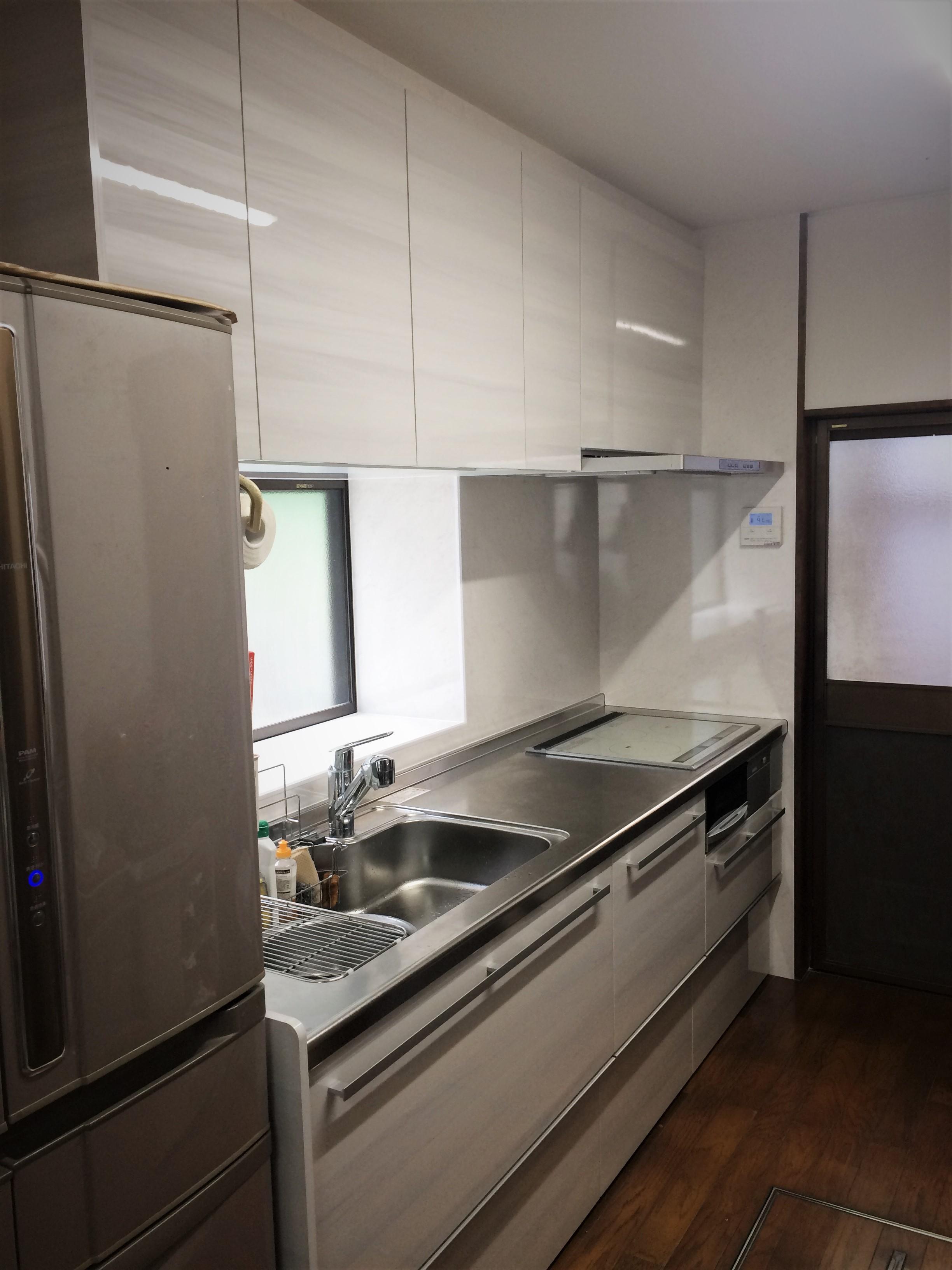キッチン完工1